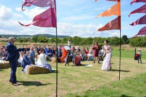 Yorkshire Outdoor Wedding Celebrant
