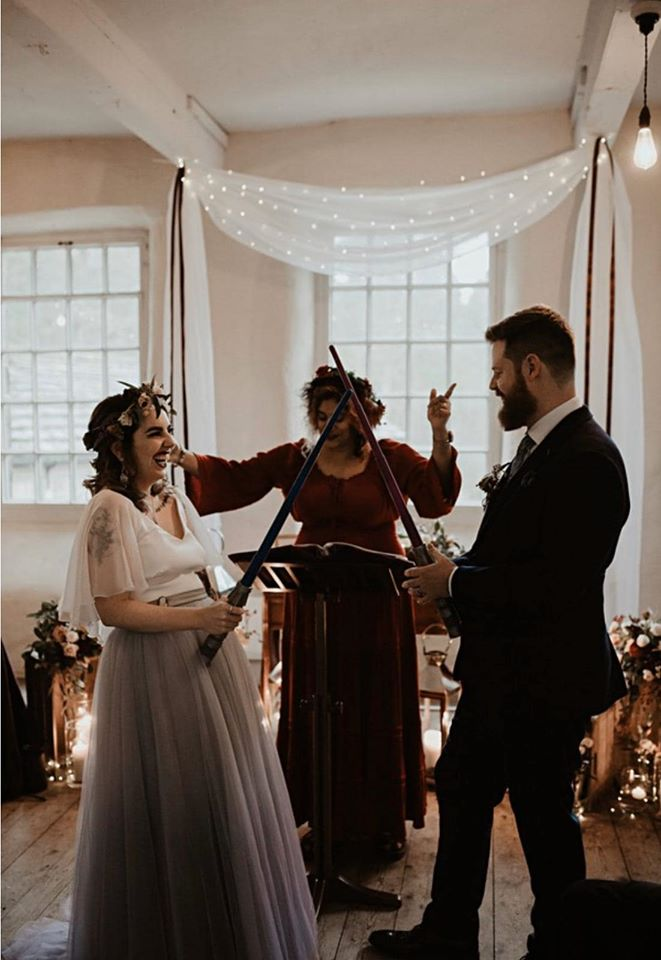 Themed Wedding Ceremony