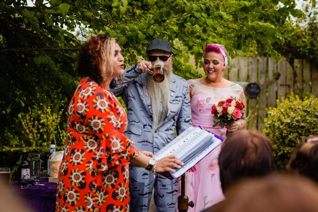 Alternative Celebrant Wedding Ceremony