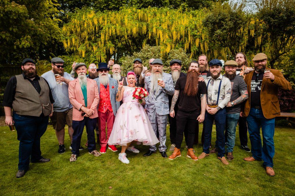 Yorkshire Beardsman Wedding