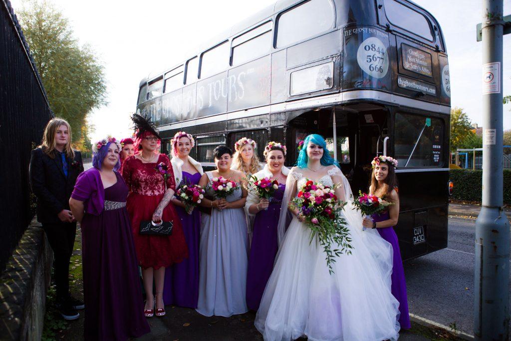 Halloween Wedding Yorkshire