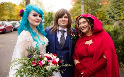 'Til Death Do us Part – A Halloween Wedding in a Cemetery