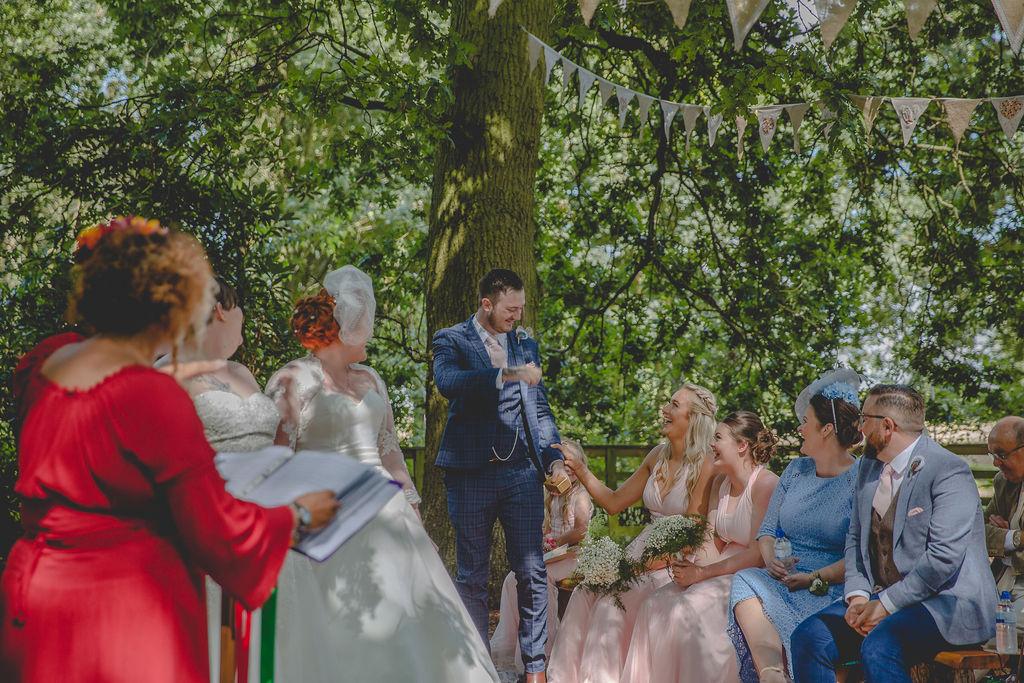 Yorkshire Celebrant Same Sex Wedding