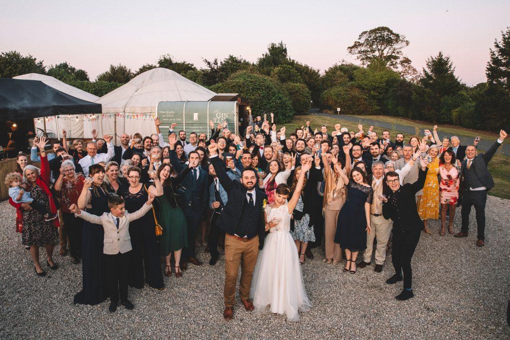 Yurt Wedding
